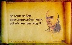 Chanakya served as an advisor and his intelligence can't be questioned. He was no warrior, but he used his brain to fight battles. Here're 24 of his quotes that may help you do the same. Chankya Quotes Hindi, Hindu Quotes, Sanskrit Quotes, Krishna Quotes, Wisdom Quotes, True Quotes, Quotations, Deep Quotes, Qoutes
