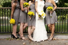 Grey and Yellow Wedding Inspiration