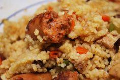 Couscous à la merguez #recettesduqc #souper #economique