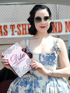 Inspiration: Dita's Toile Dress