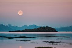 All sizes | Full Moon Over Norway | Flickr - Photo Sharing!