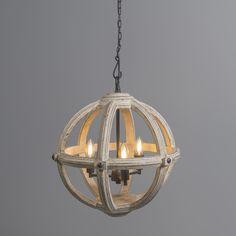 Lámpara colgante MARISE 3 blanca #iluminacion #decoracion #interiorismo #clasica