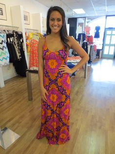The Buzz Boutique — Unforgettable Moments Maxi Dress In Multi Print
