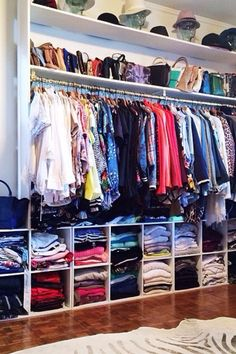 41 Clothes Rack Design Ideas That you Can Copy Right Now in your Home Spare Bedroom Closets, Dream Closets, Master Closet, Dream Rooms, Spare Room, Master Suite, Closet Storage, Closet Organization, Organization Ideas