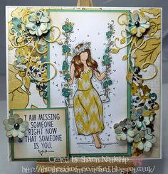Unity stamp set Adaline Girl and MME papers Paper Cards, Diy Cards, Unity Stamps, All Brands, Creative Inspiration, Paper Dolls, Cardmaking, Gallery Wall, Projects