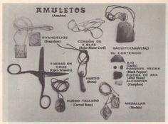 #Amulets from 'Prácticas y Creencias de una Santiguadora Canaria' (Practices and Beliefs of the Canary Islands), by Domingo García Barbuzano.  #folkmagic #witchcraft