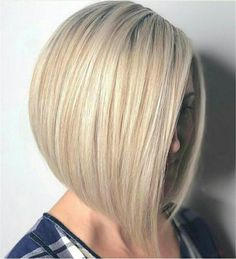 Straight Medium Length Hairstyles for Women to Look Attractive - - Straight Medium Length Hairstyles For Women To Look Attractive; Middle Parted Medium Straight Hair. Bob Haircut For Fine Hair, Haircut And Color, Fine Hair Bobs, Short Bob Hairstyles, Cool Hairstyles, Straight Haircuts, Blonde Hairstyles, Bob Haircuts, Very Short Hair