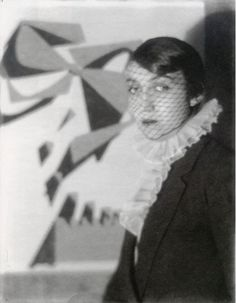 """Man Ray Photographer Berenice Abbott, Paris c.1922""""A photograph is not a painting, a poem, a symphony, a dance. It is not just a pretty picture, not an exercise in contortionist techniques and sheer print quality."""" Berenice Abbott"""