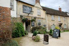 The historic George Inn, Wiltshire.