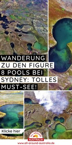 Im Blogartikel zum Link findest du Infos und Tipps für die spannende Wanderung zu den Figure 8 Pools bei Sydney. Ein echtes Must-See! #australien #Sydney Brisbane, Melbourne, Royal National Park Sydney, National Parks, 8 Pool, Highlights, Australia, Link, Blog