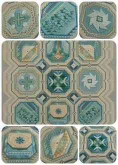 Spirit of the Southwest, charted needlepoint, Susan Portra designer