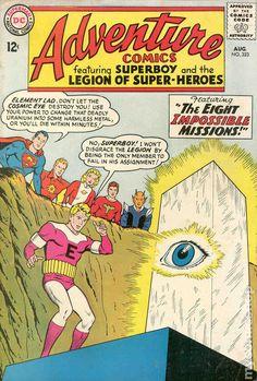 Adventure Comics No.323 - August 1964. Pencil Curt Swan, Inks George Klein