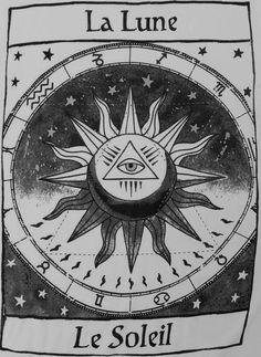 La Lune et Le Soleil.