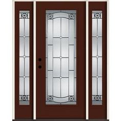 Lovely Reliabilt Entry Doors with Sidelights