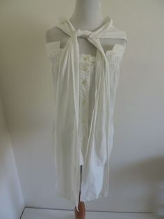 Max Mara Top Shirt Blouse White Unique Style  #MaxMara #Top