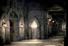 Medieval hall.