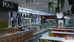 Autoservire 1 – proiect in stil modern - Studio inSIGN Restaurants, Urban, Studio, Interior, Modern, Projects, Design, Indoor, Log Projects