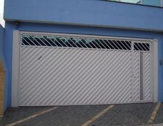Main Door, Exterior Design, Gate, Garage Doors, Outdoor Decor, Small Garage, Automatic Driveway Gates, Fence Design, House Siding