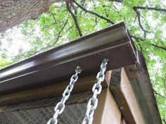 Diy Rain Chain-- best diy link yet.
