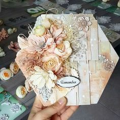 --- Busy afternoon packing kits for classes in UK --- Pakowanie szykowanie si? na warsztaty w Anglii Mixed Media Boxes, Mixed Media Collage, Mixed Media Canvas, Hobbies And Crafts, Diy And Crafts, Paper Crafts, Altered Canvas, Altered Art, Mixed Media Scrapbooking