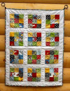 Another little baby quilt! I love doing these little projects to play with some favourite fabrics and practice some skills. This time,...