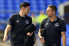Gareth Barry and Phil Jagielka