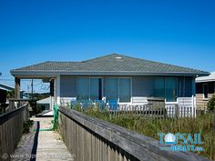 Vacation Rental Topsail Beach-S. Anderson Area & Oceanfront | TWO SUNS