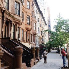 NYC brownstones  Love Love Love them