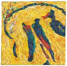 Gunter Damisch * Modern, Painting, Art, Oil On Canvas, Contemporary Art, Canvas Frame, Auction, Art Production, Art Background