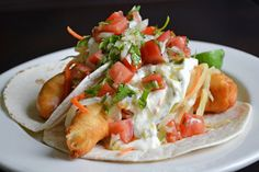 Fish tacos are one of the most craved foods from the Riviera Maya and this photo sure as heck can prove that! Description from locogringo.com. I searched for this on bing.com/images