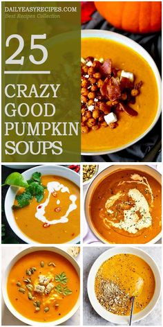 25 Pumpkin Soups You Shouldn't Miss This Fall