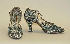 ~1920s Rhinestone shoes~ #1920 #fashion