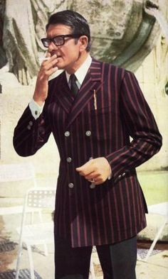 Sharp suiting from the 70's!