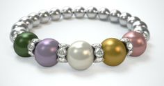 I am so happy that I have ordered my bracelet.  Have been showing it to my co-workers and friends and 3 of them already ordered one.  It is so beautiful and I have so many compliments for it.  Looks so rich!! Thank you so much!! Very very satisfied.