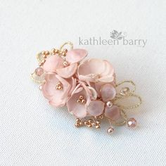 Mini Rose gold blush pink hair clip veil comb color variations – clip wedding bridal hair clip accessories - All For Bride Hair Style Gold Hair, Pink Hair, Hair Bows, Blush Rose, Blush Pink, Rose Gold, Pink Floral Crowns, Best Bridal Makeup, Wedding Hair Clips