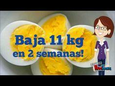 DIETA DEL HUEVO COCICO PARA BAJAR 11 KG EN DOS SEMANAS, 100% COMPROBADO!!! - YouTube