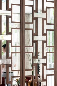 5 Star Hotel in Tel Aviv - Pictures & Video - The Norman Tel Aviv Screen Design, Door Design, Wall Design, Modern Window Treatments, Wall Treatments, Modern Window Grill, Balcony Grill Design, Home Window Grill Design, Partition Design