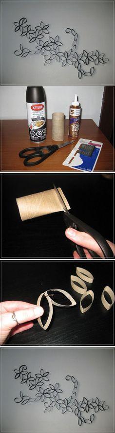 Beautiful Paper Roll Craft   DIY & Crafts
