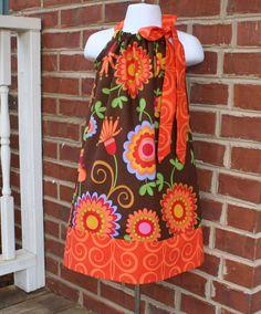 I am LOVING the pillowcase dresses! I even made one for me!
