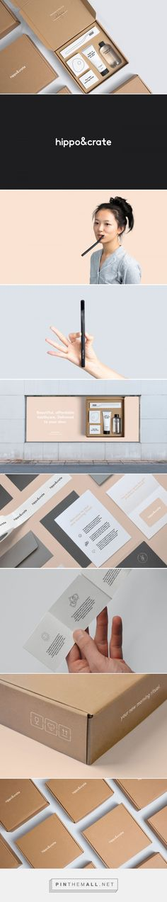 Hippo&Crate on Behance... - a grouped images picture - Pin Them All