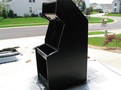 Building a MAME Arcade Cabinet - by Greg Wurst @ LumberJocks.com