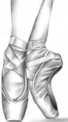 Ideas dancing drawings sketches ballet - Image 4 of 21 Girl Drawing Sketches, Art Drawings Sketches Simple, Pencil Art Drawings, Easy Drawings, Ballet Drawings, Dancing Drawings, Ballet Shoes Drawing, Shoe Drawing, Ballerina Art