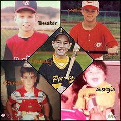 Buster, Matt, Tim, George, and Sergio