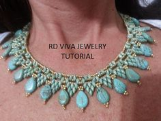 Tutorial San Francisco Necklace by Vivatutorial on Etsy