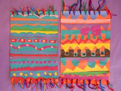The Elementary Art Room!: Dhurrie Rugs/Magic Carpets. Would go along with Gr 3s studying India.