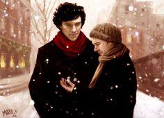 I adore you Sherlock Holmes John Watson, Sherlock John, Amanda Abbington, I Adore You, Johnlock, Baker Street, Martin Freeman, Inevitable, British Actors