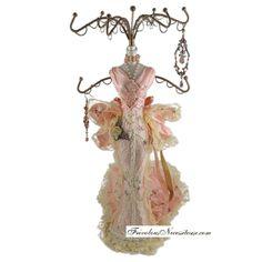 Doll jewelry organizer