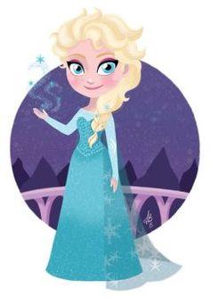 "Queen Elsa from Disney's ""Frozen"". The last one, for now, of my Disney Princesses collection Disney Girls, Baby Disney, Disney Love, Disney Magic, Disney Frozen, Disney Pixar, Disney Characters, Disney Princesses, Film Frozen"