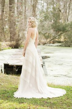 Browse beautiful Lillian West wedding dresses and find the perfect gown to suit your bridal style. Lillian West, Boho Wedding Dress, Lace Wedding, Bridal Gowns, Wedding Gowns, Bella Bridal, Celtic Wedding, Irish Wedding, A Line Gown