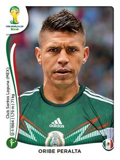 086 Oribe Peralta - México - MUNDIAL BRASIL 2014